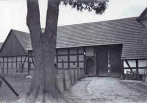 Budynek bramny czworobocznej zagrody, Swołowo początek XX w.