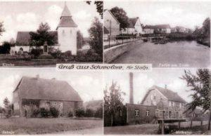 Kartka pocztowa ze Swołowa, lata 30-te XX w.